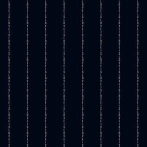 Love Is Love Pinstripe in Black