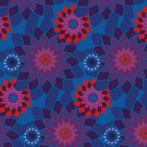 Geometric Floral 2