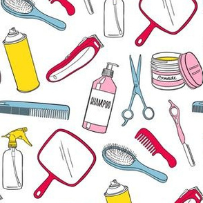 hair designer tools - colors