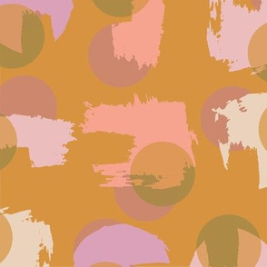 Paint Circles - Gold