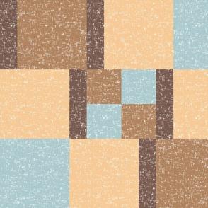 East Fork Spring Cheater Quilt 2 (Bauhaus) by Su_G_©SuSchaefer