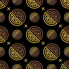 shou_symbol2_gold_seamless_cross