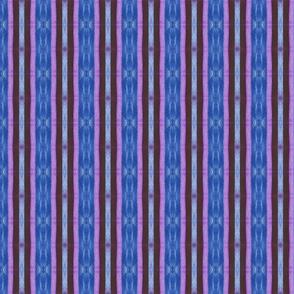 Plum, Pink Denim Blue Stripe