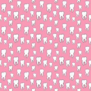 Tiny Pink Teeth