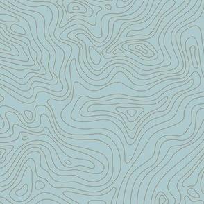 Fingerprint of the Land - Malibu and Terra Cotta
