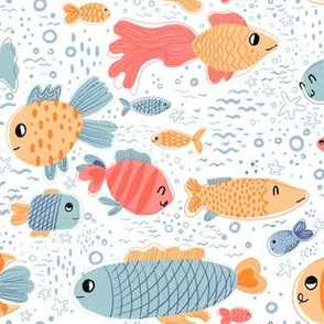 Busy fish