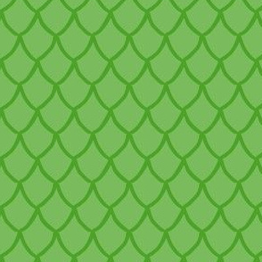Green Mermaid Scales Small