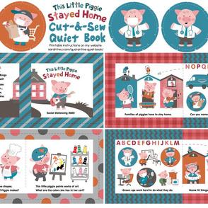 This Little Piggie Stayed Home - Cut-&-Sew Quiet Book