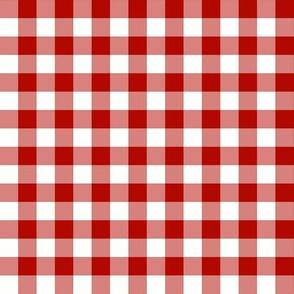 Red White Picnic Gingham