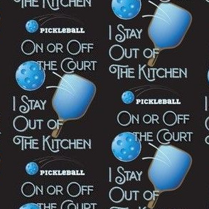 Pickleball No Kitchen On Or Off The Court