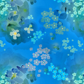 Forget-me-not • For Alzhiemers