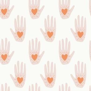 Heart In Hand   Pastel