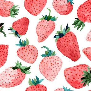 Strawberries by Angel Gerardo - Large Scale