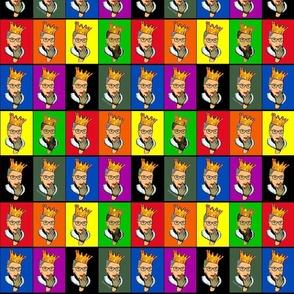 black lines deffining the RGB color blocks