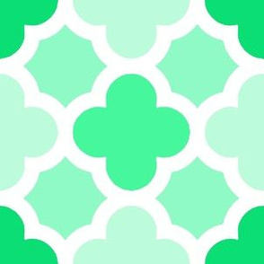 Green Moroccan Boho