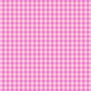Pink gingham small