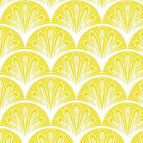 Lemon Fan Art Deco
