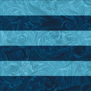 Deep Blue Sea - Stripes