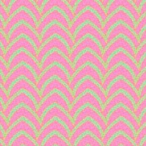 Flying Stripe - Pastel Parasol