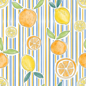 Citrus and Stripes