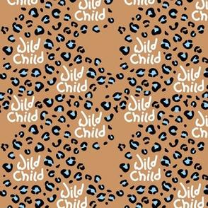 Little wild child leopard spots and animal print dots nursery neutral beige boys SMALL