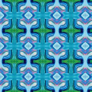 Painted Aqua Maze