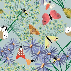 Pollinators & Flowers