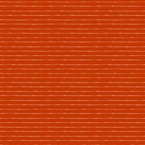 Stripes: Salmon and Red | Painterly Geometrics