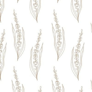 BKRD Wildland Wheat - Taupe White 10x10