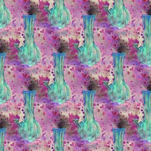 Blue Bong Marijuana Print