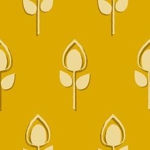 Tulips - mustard