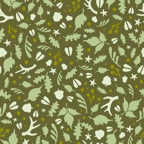 Deerly Beloved - green