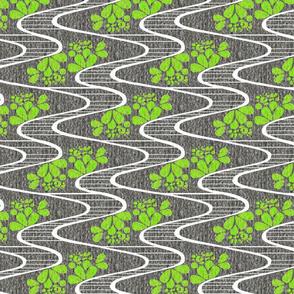 Urban Meanderings - Lime Splash
