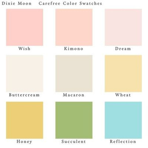 Dixie Moon Color Swatches Carefree