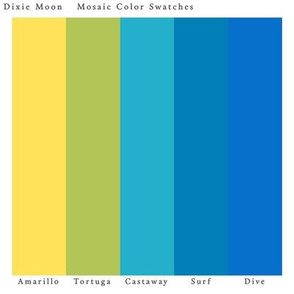Dixie Moon Color Swatches Mosaic
