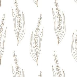 BKRD Wildland Wheat - Taupe White 12x12