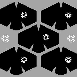 White Coronavirus Face Masks on Black