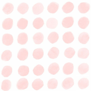 Pink Watercolor Dots