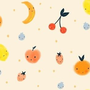 Fruity Cutie - Cherries, lemons, peaches and more fruit