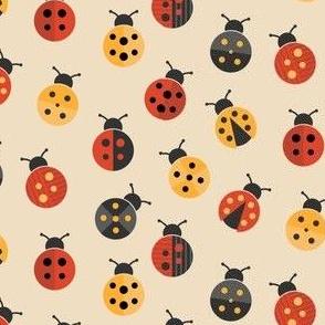 Colorful ladybugs