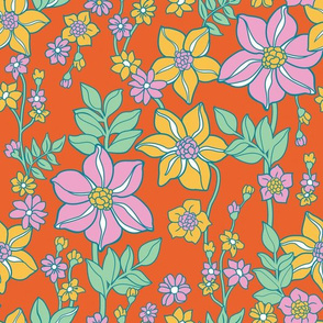 Fresh floral_orng
