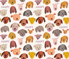 Adopt rescue dogs