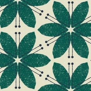 Lilies M+M Evergreen by Friztin
