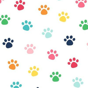LG rainbow paw prints