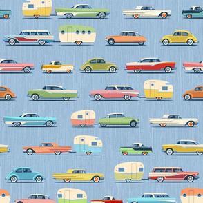Cars N Campers Blue