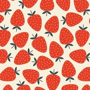 Strawberries - Red white and Blue