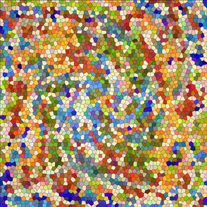 Mexican Tile Mosaic