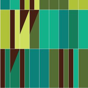 Barcelona stripe - vert