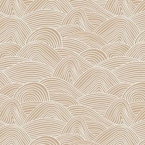 Ocean Waves Small Latte