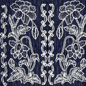 my-tjap116-NEW-VERY-DARK-BLUE-double-vertical-floral-border-resized-vector-white-lines-scan-fabric-real-pattern-bkgr-NEW-VERY-DARK-BLUE-colorburn-FABRIC-NEW2020